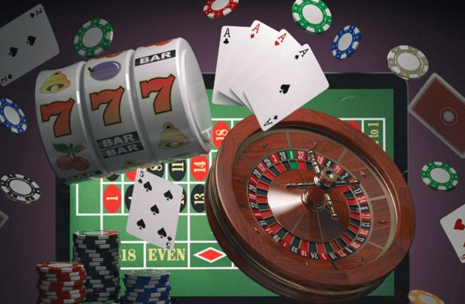 cards, jackpot, casino chips